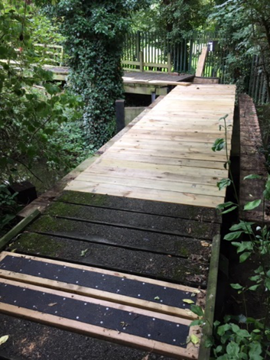 Walkway to be completed